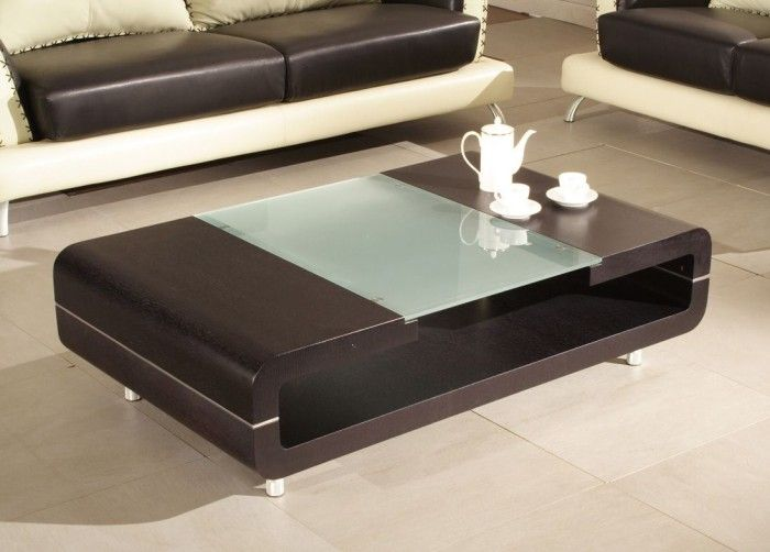 room with a center coffee table