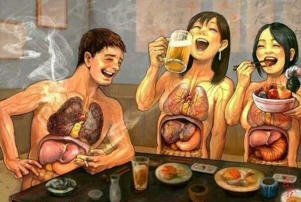 Alcohol Affects the Liver & Body