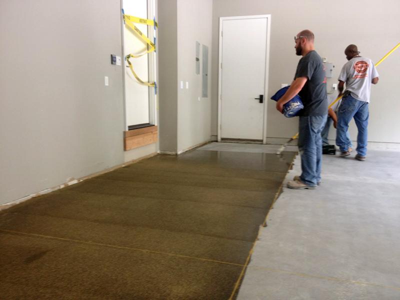 Recoating Your Garage Floor